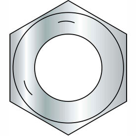 1/2-13  Coarse Thread Finished Hex Nut Grade 5 Zinc, Pkg of 1800