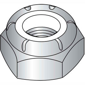 1/2-13 NTE Thin Pattern Nylon Insert Hex Lock Nut 18 8 Stainless Steel, Package of 200 by