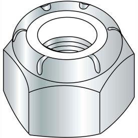 9/16-12  NE  Nylon Insert Hex Lock Nut Zinc, Pkg of 200