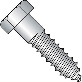 5/8X2 1/2  Hex Lag Screw 18 8 Stainless Steel, Pkg of 25