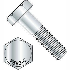 5/8-11X4 1/2  Hex Cap Screw 18 8 Stainless Steel, Pkg of 25