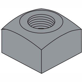 5/8-11  Heavy Square Nut Plain, Pkg of 200