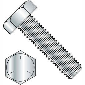 7/8-9X2 1/2  Hex Tap Bolt Grade 5 Fully Threaded Zinc, Pkg of 100