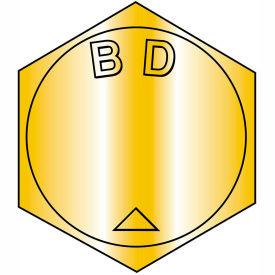 B7/16-14 x 3-3/4 MS90728, Steel B1821 Coarse Cap Screw ASTM A354BD - Zinc Yellow - 100 pcs