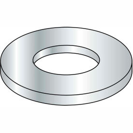 M3 Din 1 2 5 A Metric Flat Washer Zinc, Package of 10000 by