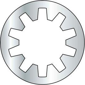 M8 Metric Internal Tooth Lock Washer - Zinc - DIN 6797 J - Pkg of 3000