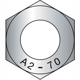M8-1.25  Din 934 Metric Class 8 Hex Nuts Zinc, Pkg of 25