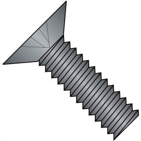 1/4-20 x 5/16 MS24693-B Phillips Flat F/T Mach. Screw SS - Black Oxide DFAR - Pkg of 1000