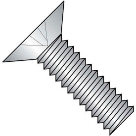 1/4-20 x 3/8 MS24693-C Phillips Flat F/T Machine Screw S/S - DFAR - Pkg of 1000