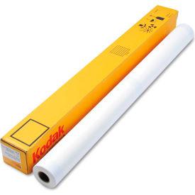 "Kodak Water-Resistant Self-Adhesive Poly Poster 22006900, 50"" x 100', White, 1 Each"