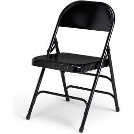 Ki 300 Series Steel Folding Chair - Black - Pkg Qty 4