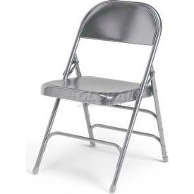 Ki 300 Series Steel Folding Chair - Warm Gray - Pkg Qty 4