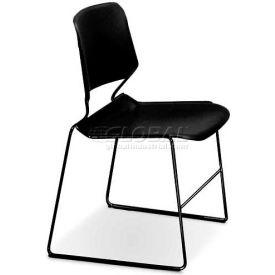 Matrix Stack Chair - Black Frame - Black - Pkg Qty 4