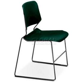 Matrix Stack Chair - Chrome Frame - Marine Teal - Pkg Qty 4