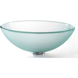 Kraus GV-101FR Frosted Glass Vessel Sink