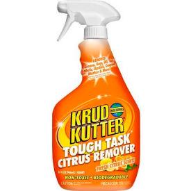 Krud Kutter Tough Task Citrus Remover, 32 oz. Trigger Spray Bottle, 12 Bottles KC324... by