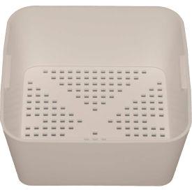 Krowne 30-145 - Small Deep Style White Plastic Floor Drain Strainer