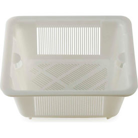 Krowne 30-147 - Medium White Plastic Kitchen Floor Drain Strainer