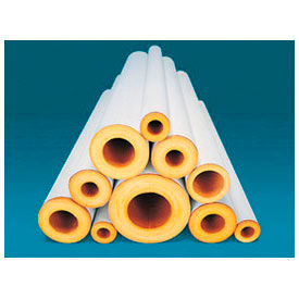 "Johns Manville 3""X3' FT FIBERGLASS PIPE INSULATION 1"" WALL"