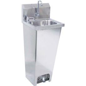"""Krowne HS-14 - 16"""" Wide Pedestal Hand Sink"""