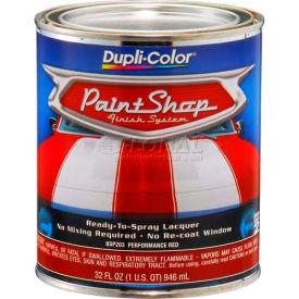 Dupli-Color® Paint Shop Finish System Base Coat Performance Red 32 Oz. Quart - BSP203 - Pkg Qty 2