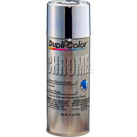 Dupli-Color® Automotive Metallic Coating Chrome 11 Oz. Aerosol - CS101 - Pkg Qty 6