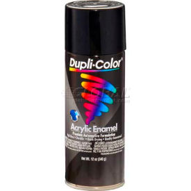 Dupli-Color® Premium Enamel Gloss Black 12 Oz. Aerosol - DA1600 - Pkg Qty 6