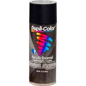 Dupli-Color® Premium Enamel Semi-Gloss Black 12 Oz. Aerosol - DA1603 - Pkg Qty 6