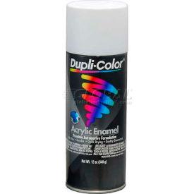 Dupli-Color® Premium Enamel Flat White 12 Oz. Aerosol - DA1672 - Pkg Qty 6