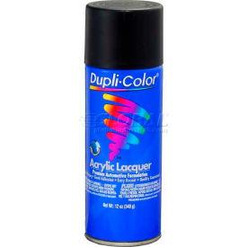 Dupli-Color® Premium Lacquer Semi-Gloss Black 12 Oz. Aerosol - DAL1608 - Pkg Qty 6