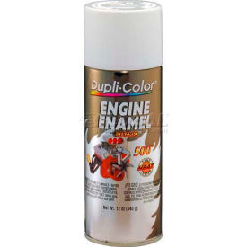 Dupli-Color® Engine Enamel With Ceramic Universal White 12 Oz. Aerosol - DE1602 - Pkg Qty 6