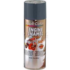 Dupli-Color® Engine Enamel With Ceramic New Ford Gray 12 Oz. Aerosol - DE1611 - Pkg Qty 6