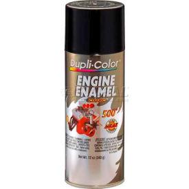 Dupli-Color® Engine Enamel With Ceramic Gloss Black 12 Oz. Aerosol - DE1613 - Pkg Qty 6