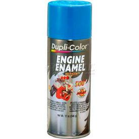 Dupli-Color® Engine Enamel With Ceramic Chrysler Corp. Blue 12 Oz. Aerosol - DE1631 - Pkg Qty 6