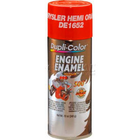 Dupli-Color® Engine Enamel With Ceramic Chrysler Hemi Orange 12 Oz. Aerosol - DE1652 - Pkg Qty 6
