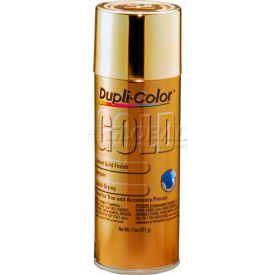 Dupli-Color® Automotive Metallic Coating Gold 11 Oz. Aerosol - GS100 - Pkg Qty 6