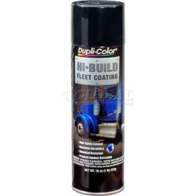 Dupli-Color® Hi-Build Fleet Coating Gloss Black 16 Oz. Aerosol - HB101 - Pkg Qty 6
