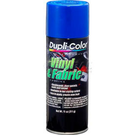 Dupli-Color® Vinyl And Fabric Coating Blue 11 Oz. Aerosol - HVP102 - Pkg Qty 6