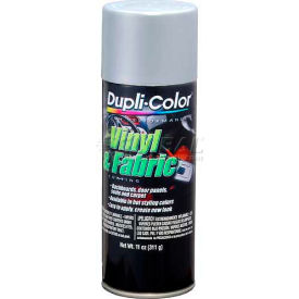 Dupli-Color® Vinyl And Fabric Coating Silver 11 Oz. Aerosol - HVP103 - Pkg Qty 6