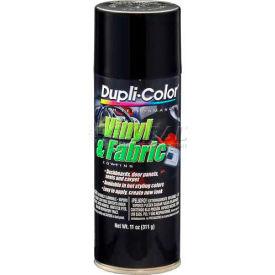 Dupli-Color® Vinyl And Fabric Coating Gloss Black 11 Oz. Aerosol - HVP104 - Pkg Qty 6