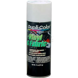 Dupli-Color® Vinyl And Fabric Coating Gloss White 11 Oz. Aerosol - HVP105 - Pkg Qty 6