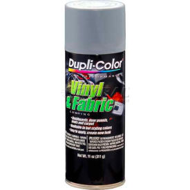 Dupli-Color® Vinyl And Fabric Coating Medium Gray 11 Oz. Aerosol - HVP109 - Pkg Qty 6