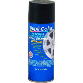 Dupli-Color® Wheel Coating Black 11 Oz. Aerosol - HWP104 - Pkg Qty 6