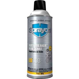 Sprayon LU103L High-Performance Rust Penetrant Rust Breaker, 1 Gallon - S10301000 - Pkg Qty 4