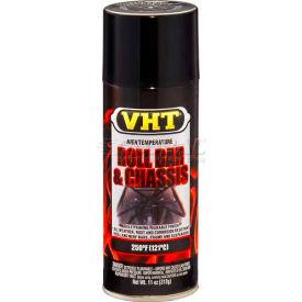 Vht High Temperature Roll Bar & Chassis Paint Gloss Black 11 Oz. Aerosol - SP670 - Pkg Qty 6