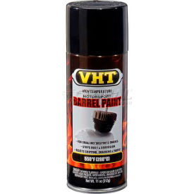 Vht High Temperature Barrel Paint Gloss Black 11 Oz. Aerosol - SP905 - Pkg Qty 6