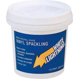 White Lightning® Vinyl Spackling Compound - 1/2 pt. - WL060115 - Pkg Qty 12