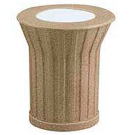 "Sand Top Urn-Bronze With Brown, 20""Dia x 23""H"
