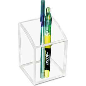 Clear Acrylic Pencil Holder by