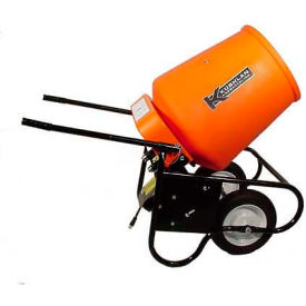 Kushlan Products 350W Fully Assembled Wheelbarrow Cement Mixer by